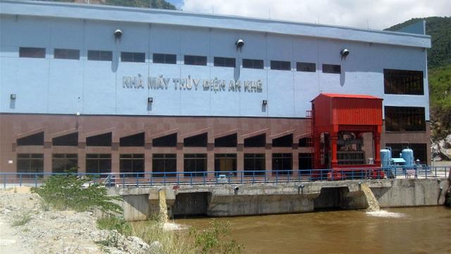 Nhà máy Thuỷ điện An Khê, Ảnh: Dân Việt