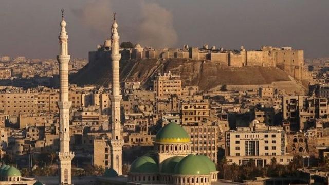Khu vực thành cổ ở Aleppo. (Ảnh: AFP)