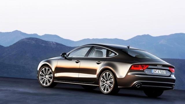 8. Audi A7 với tuỳ chọn bộ loa Bang & Olufsen 1.200W, 15 loa