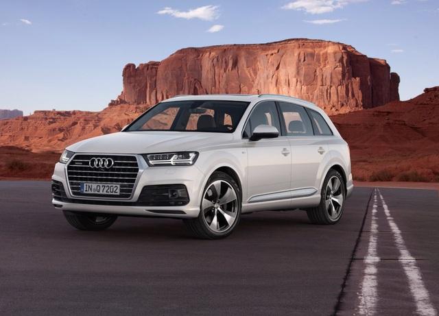 SUV hạng sang cỡ trung: Audi Q7