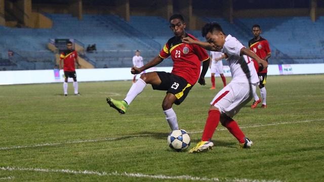 U19 Việt Nam đã có chiến thắng đầu tiên ở giải Đông Nam Á