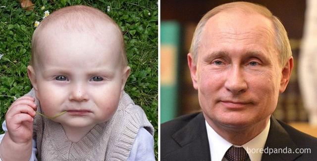 Như Vladimir Putin những lúc đăm chiêu