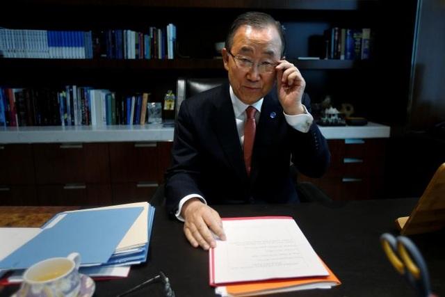Tổng thư ký Liên Hợp Quốc Ban Ki-moon. (Ảnh: Reuters)