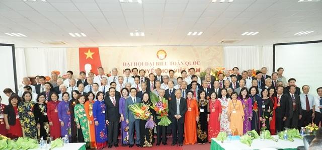 Nguyên Phó Chủ tịch nước Nguyễn Thị Doan làm Chủ tịch Hội Khuyến học Việt Nam khóa V - 1