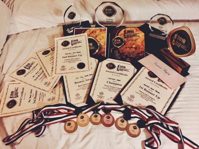 """Thành tích ấn tượng của đoàn Việt Nam tại giải """"Malaysia world oriental dance arts festival"""""""