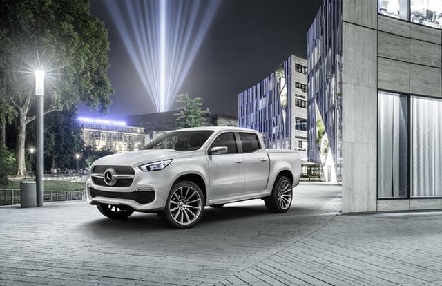 Mercedes giới thiệu concept bán tải X-Class - 10