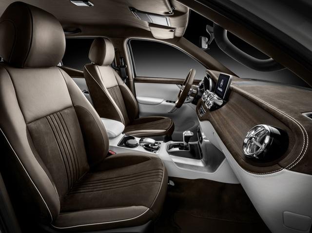 Mercedes giới thiệu concept bán tải X-Class - 14