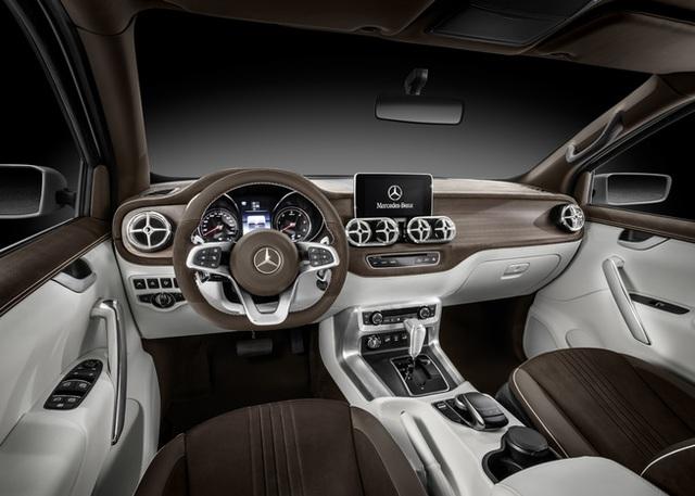 Mercedes giới thiệu concept bán tải X-Class - 13
