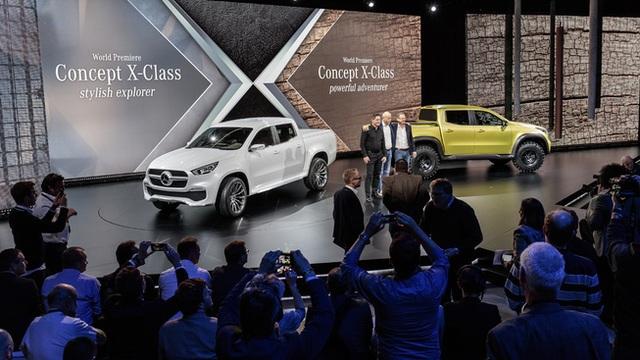 Mercedes giới thiệu concept bán tải X-Class - 1