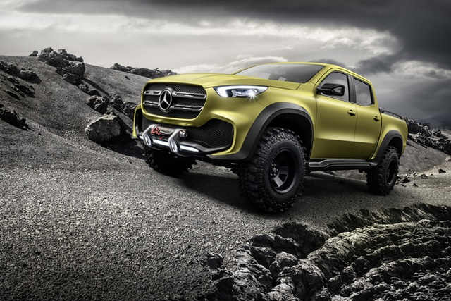 Mercedes giới thiệu concept bán tải X-Class - 3