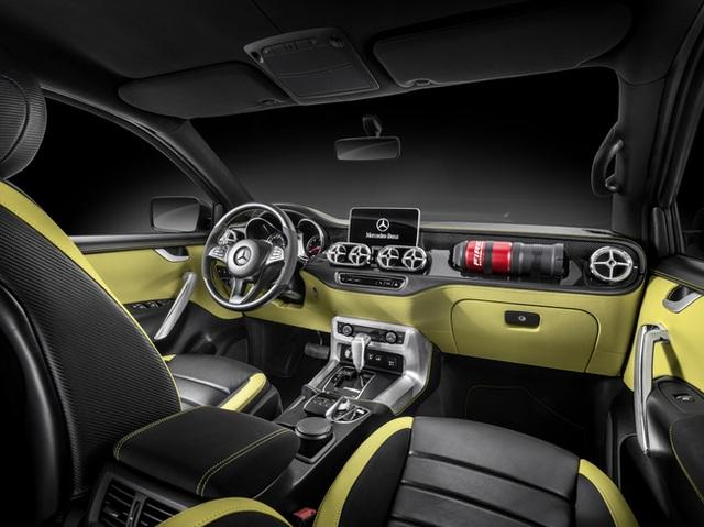 Mercedes giới thiệu concept bán tải X-Class - 5