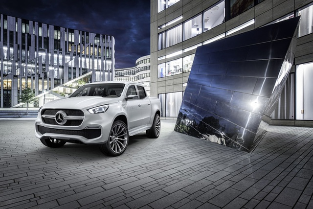 Mercedes giới thiệu concept bán tải X-Class - 9