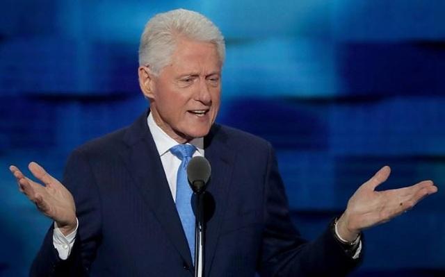 Cựu Tổng thống Mỹ Bill Clinton. (Ảnh: AFP)