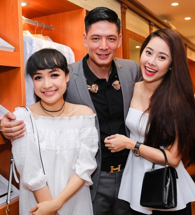 Bình Minh khá thân mật với Lê Bê Là và diễn viên Tường Vi