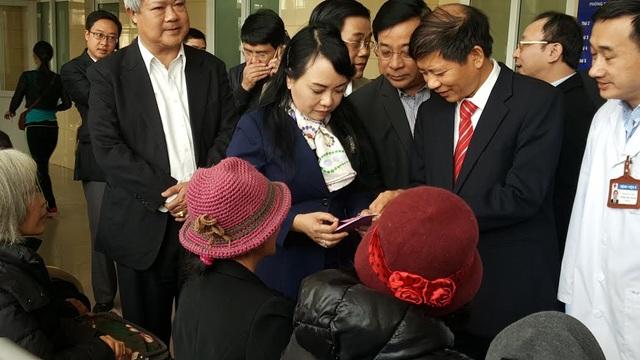 Bộ trưởng trực tiếp kiểm tra thông tin