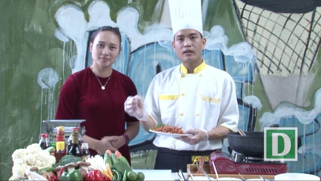 Bếp Ngon: Ca sĩ Khánh Linh tiết lộ món mực khô tuyệt ngon cuối tuần - 4