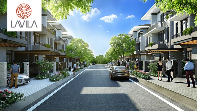 Biệt thự phố Lavila - hòa cùng xu hướng sống xanh - 2