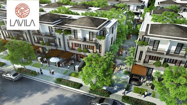 Biệt thự phố Lavila - hòa cùng xu hướng sống xanh - 1