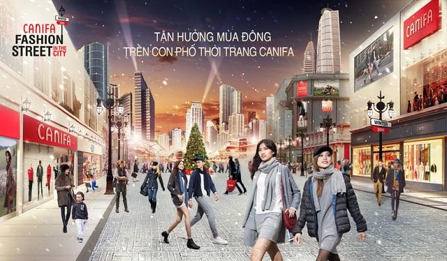"""""""CANIFA Fashion Street in the City"""" lấy cảm hứng từ phong cách thời trang đường phố Châu Âu"""