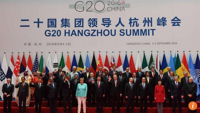 Bức ảnh lưu niệm tại hội nghị G20 diễn ra ở Hàng Châu, Trung Quốc. (Ảnh: SCMP)