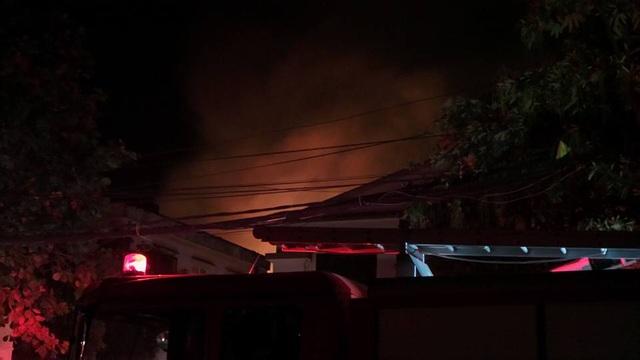 Hình ảnh đảm cháy lúc 22h50