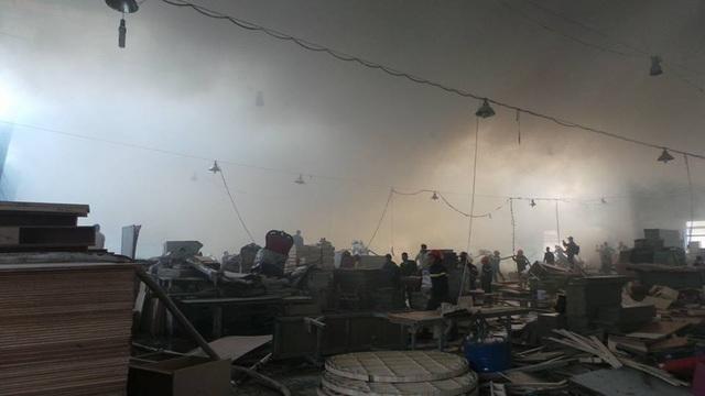 Hà Nội: Cháy lớn tại khu công nghiệp Ngọc Hồi - 3