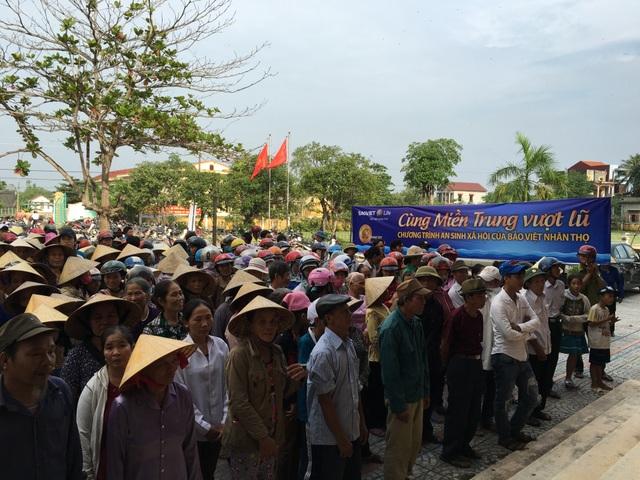 Anh Nhâm, trưởng thôn La Hà Đông, xã Quảng Văn, cho biết, Bảo Việt Nhân thọ đã hỗ trợ rất nhanh chóng, kịp thời; phối hợp với thôn để xác định và trao quà đến những hộ gia đình khó khăn, cần hỗ trợ nhất.
