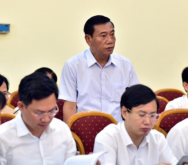 Ông Đỗ Viết Bình - Chủ tịch UBND quận Ba Đình báo cáo sẽ giải quyết dứt điểm vụ việc 146 Quán Thánh trong tháng 10/2016.