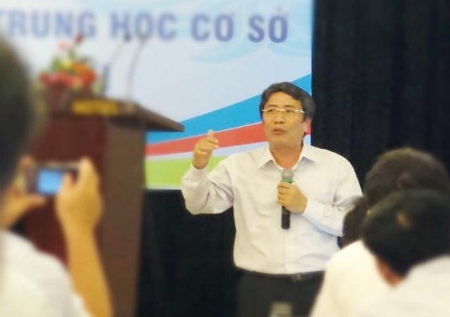 Ông Vũ Đình Chuẩn, Vụ trưởng Vụ Giáo dục phổ thông - Bộ GD&ĐT