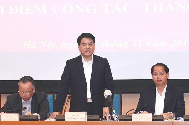 Chủ tịch UBND TP Hà Nội Nguyễn Đức Chung yêu cầu sớm làm rõ thông tin phản ánh cán bộ Sở Ngoại vụ TP đánh cụ ông.