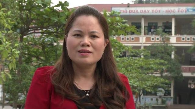 Cô giáo Bùi Thị Kim Chi