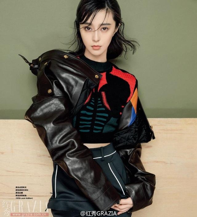 Tháng 12/2016, Phạm Băng Băng xuất hiện trên tạp chí thời trang Grazia của Trung Quốc. Người đẹp khoe vẻ đẹp tự nhiên không tì vết với gương mặt hầu như không trang điểm.