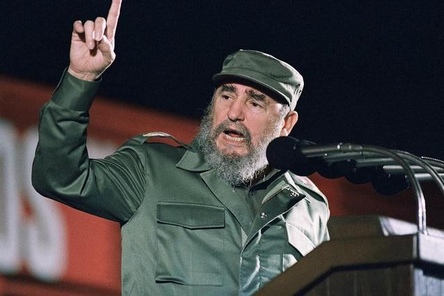 Lãnh tụ cách mạng Cuba Fidel Castro (Ảnh: AP)