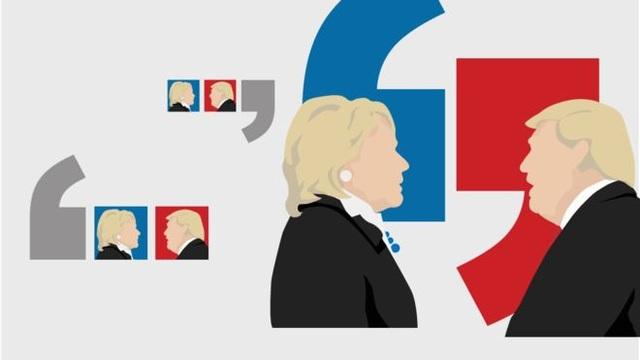 Cuộc tranh luận dự kiến thu hút khoảng 100 triệu người theo dõi. (Ảnh: BBC)