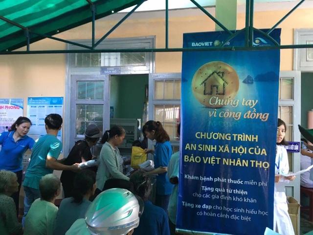 Tổng giá trị hỗ trợ và trao tặng của Bảo Việt Nhân thọ trong chương trình này là gần 400 triệu đồng.