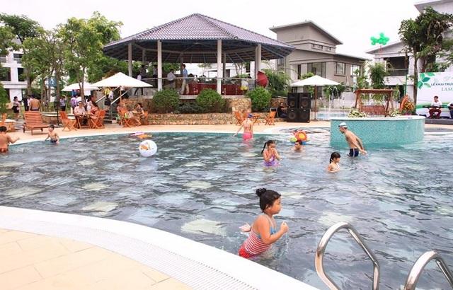 Nhiều người mua căn hộ ở Khu đô thị Đặng Xá chỉ để làm nhà nghỉ cuối tuần, có chỗ vui chơi cho trẻ nhỏ