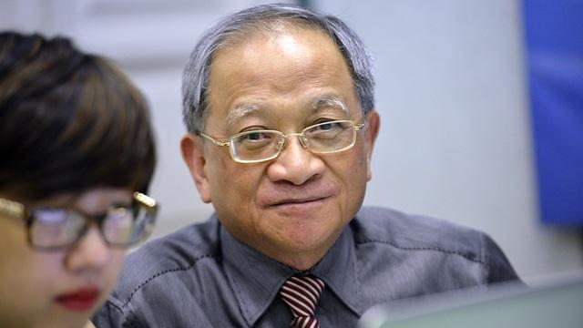 TS Lê Đăng Doanh trong buổi giao lưu trực tuyến với bạn đọc Dân trí về Đổi mới sáng tạo KH&CN - Yếu tố sống còn của phát triển