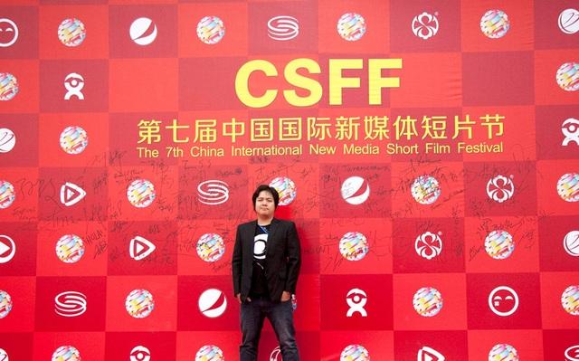Đạo diễn trẻ Phùng Đình Dũng tại CSFF 2016