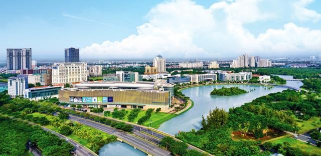 Đô thị kiểu mẫu Phú Mỹ Hưng được quy hoạch hoàn chỉnh về mặt cơ sở hạ tầng kỹ thuật và xã hội, phát triển đồng bộ 8 khu chức năng gồm 5 khu dân cư và 3 khu dịch vụ.