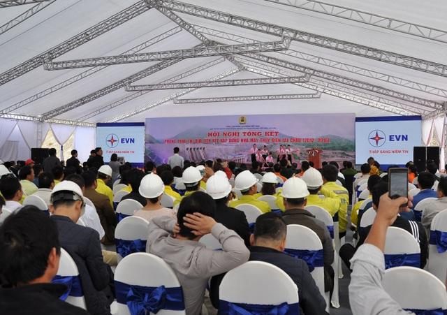 Thuỷ điện Lai Châu hoàn thành trước tiến độ 1 năm giúp tiết kiệm cho ngân sách hàng ngàn tỷ đồng