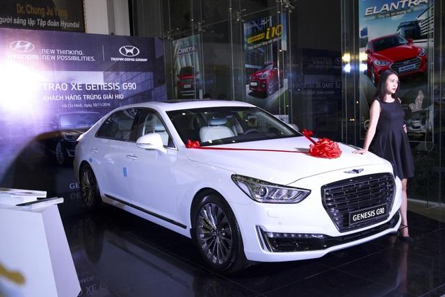 Hyundai Thành Công trao thưởng xe Genesis G90 cho golf thủ đoạt giải Hold In One - 3