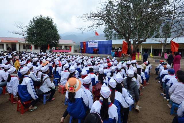 Náo nức ngày khánh thành công trình phòng học Dân trí thứ 5 tại Chiềng Sơ, Sơn La - 6