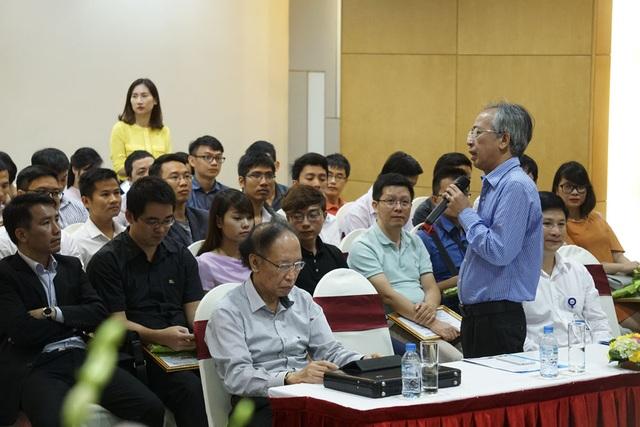 TS. Nguyễn Long, Chủ tịch Hội đồng sơ khảo.