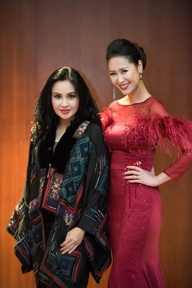 Cô hội ngộ diva Thanh Lam.