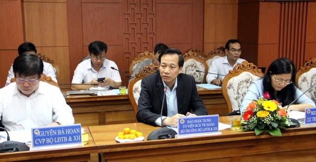 Bộ trưởng Đào Ngọc Dung lưu ý công tác dạy nghề cho nông dân tại Quảng Nam.