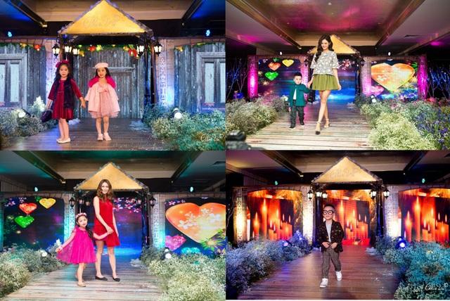 Hồng Quê, Tâm Tít, Bảo Trâm Idol hội ngộ trong ELLIE VU IN LOVE Fashion show - 2