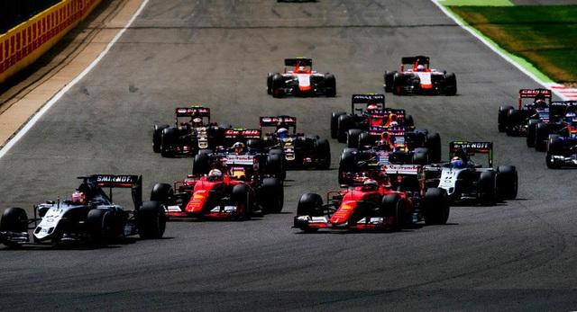 Đã có lịch thi đấu F1 mùa giải 2017, bỏ chặng Đức - 1
