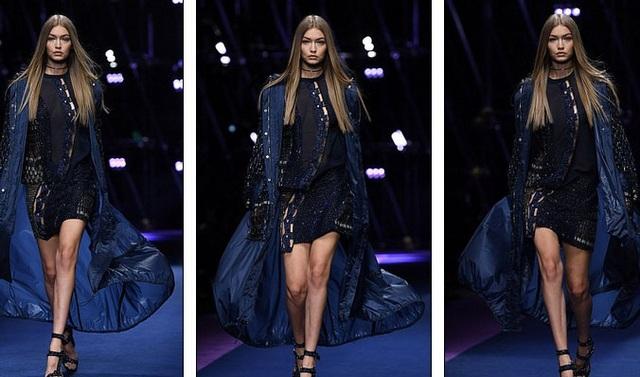 Gigi Hadid luôn là người mẫu cưng của Versace