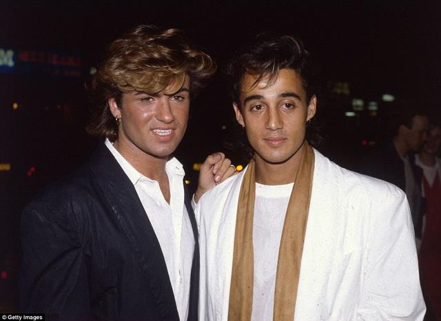 George và Andrew Ridgeley tại buổi ra mắt bộ phim Dune vào năm 1984.