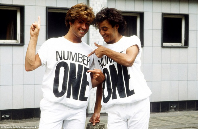 Tháng 5/1984, Michael và người anh em thân thiết - Ridgeley diện đồ đôi trong ca khúc Wake Me Up Before You Go-go. Ca khúc này cũng là một trong những bản hit của nhóm Wham! và chiếm vị trí số 1 tại bảng xếp hạng âm nhạc Anh khi đó.